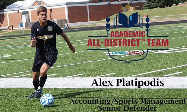 Platipodis Earns CoSIDA Academic All-District Honors