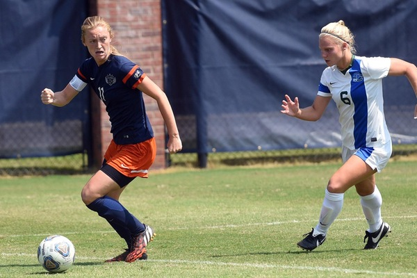 Second Half Surge gives Eagles 4-0 win in First Road Contest