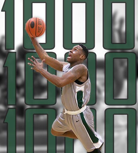 Sage Men into Skyline Finals; Gators beat defending champions, Old Westbury as Patterson scores 1000th point and Mills breaks single-game scoring mark