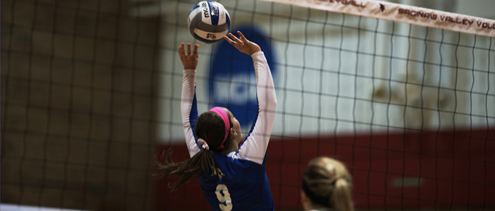 Volleyball Posts 3-0 Victory Over LSSU