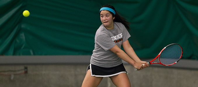 Lew Earns Lone Point For Women's Tennis
