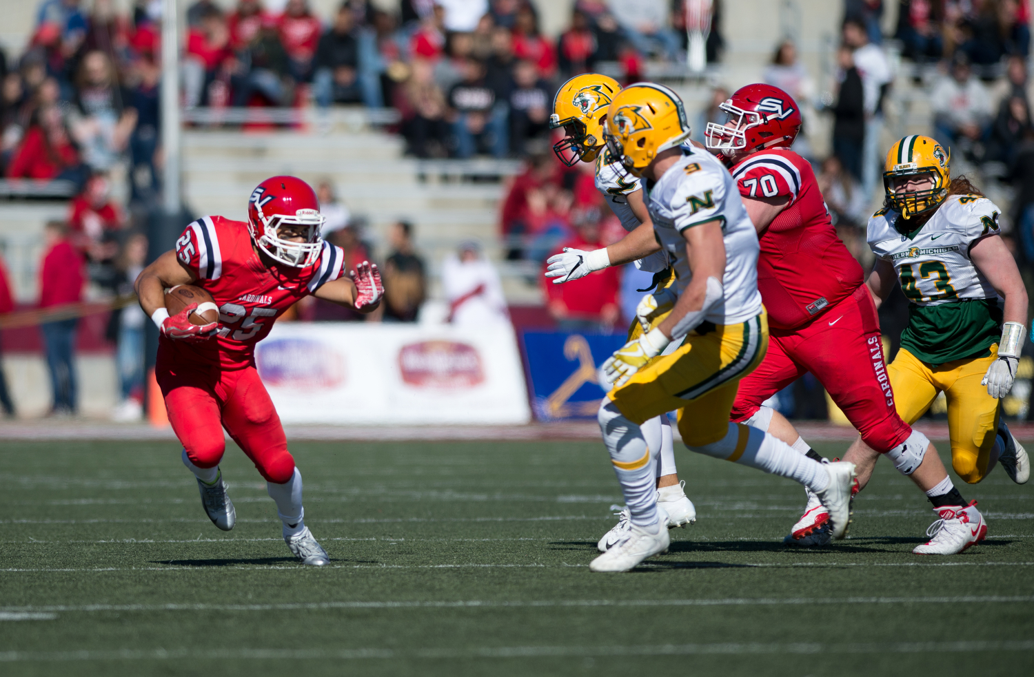 Cardinals claim homecoming victory over Northern Michigan, 30-10