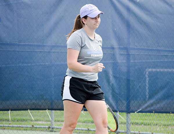 Women's Tennis to Third Place Match after Day One Split