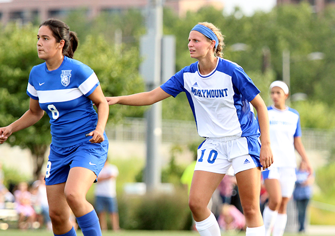 Women's soccer drops home opener to Profs