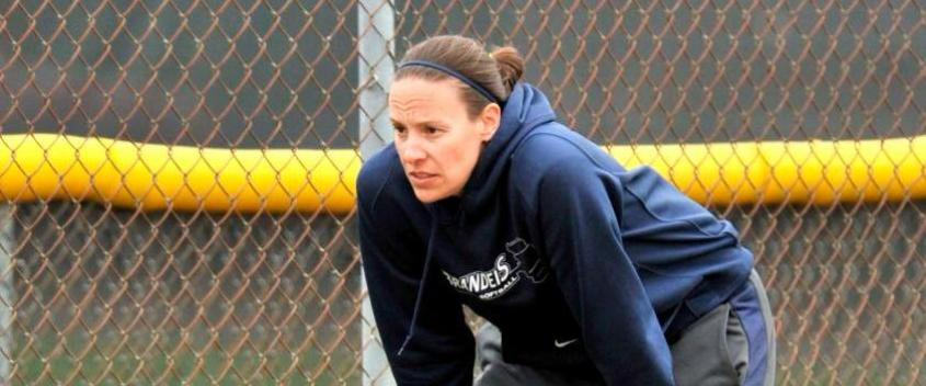 Coach Jessica Johnson earns her 200th coaching victory, as Brandeis wins two against UMass Boston