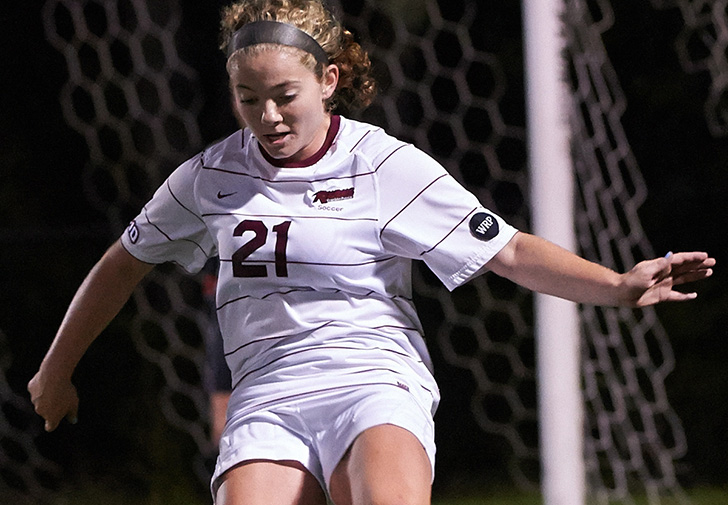 Madison Finlay Scores Twice to Lead Women's Soccer to 2-0 Triumph over Saint Michael's