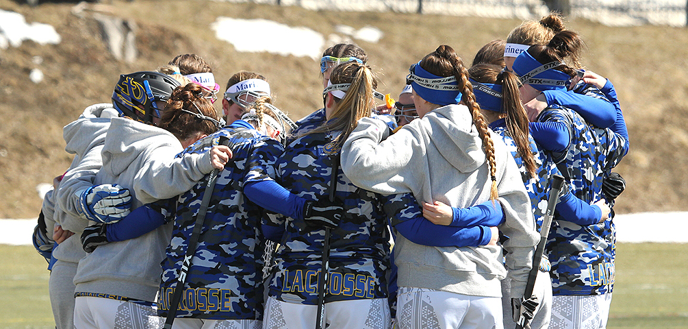 Game Notes: Women's Lacrosse Travels to Vermont to Face the Eagles and Badgers