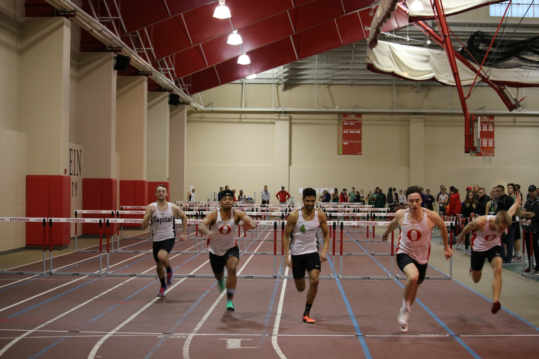 Men's Track and Field Eighth at OAC Championships