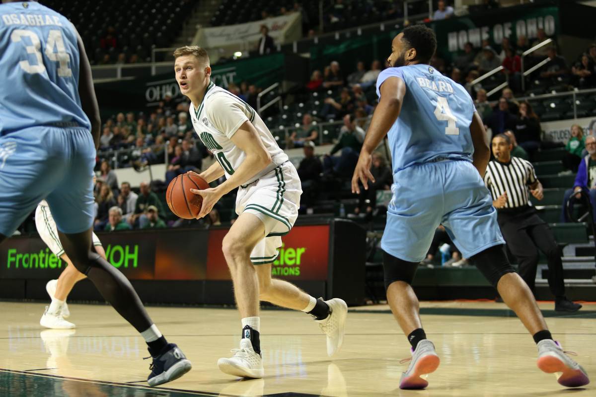 Ohio Men's Basketball Opens MAC Play Against NIU on Saturday