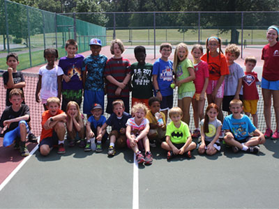 All Smiles! ... Active Summer Camp Wraps Up