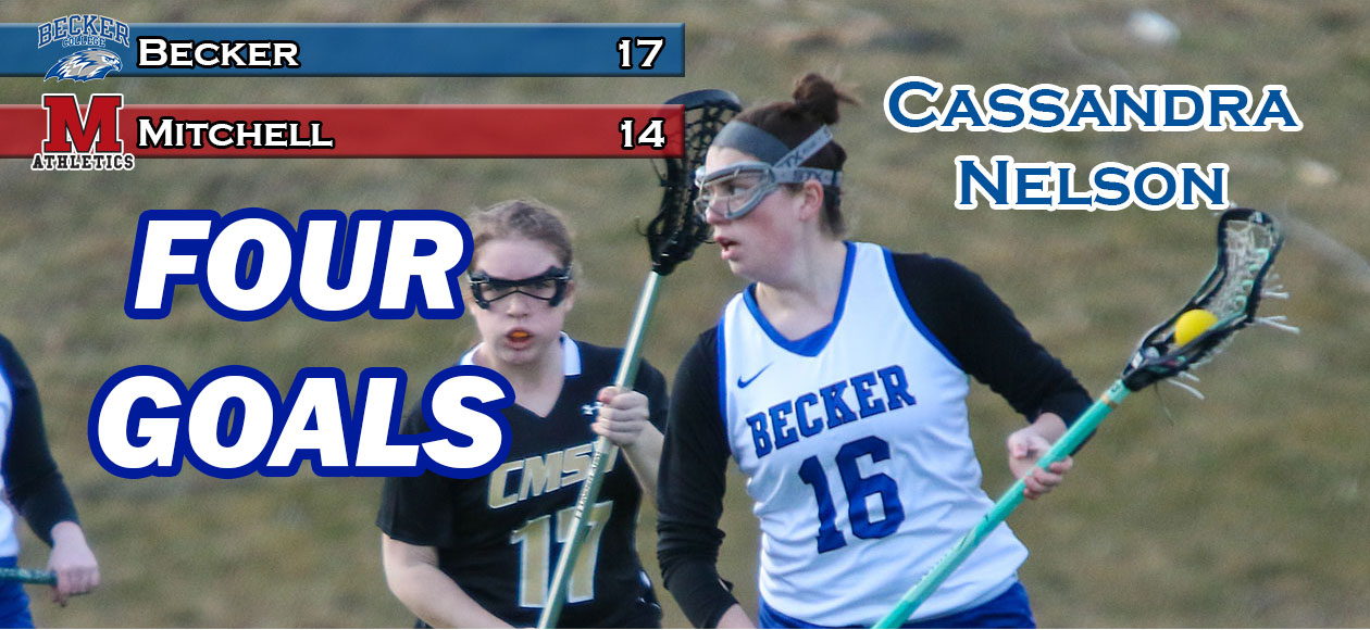 Women's Lacrosse prevails at Mitchell in NECC showdown