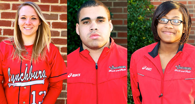 LC Trio Named ODAC Players of the Week