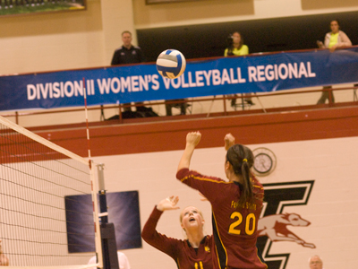 Ferris State ended its season with a 3-0 loss to Lewis in NCAA Regional Quarterfinal play.