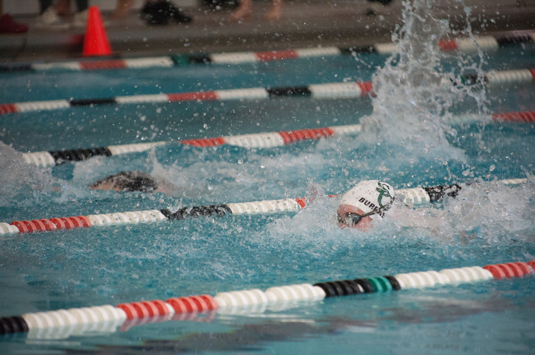 Burnett Wins Two Events in Dual Meet Loss to Messiah