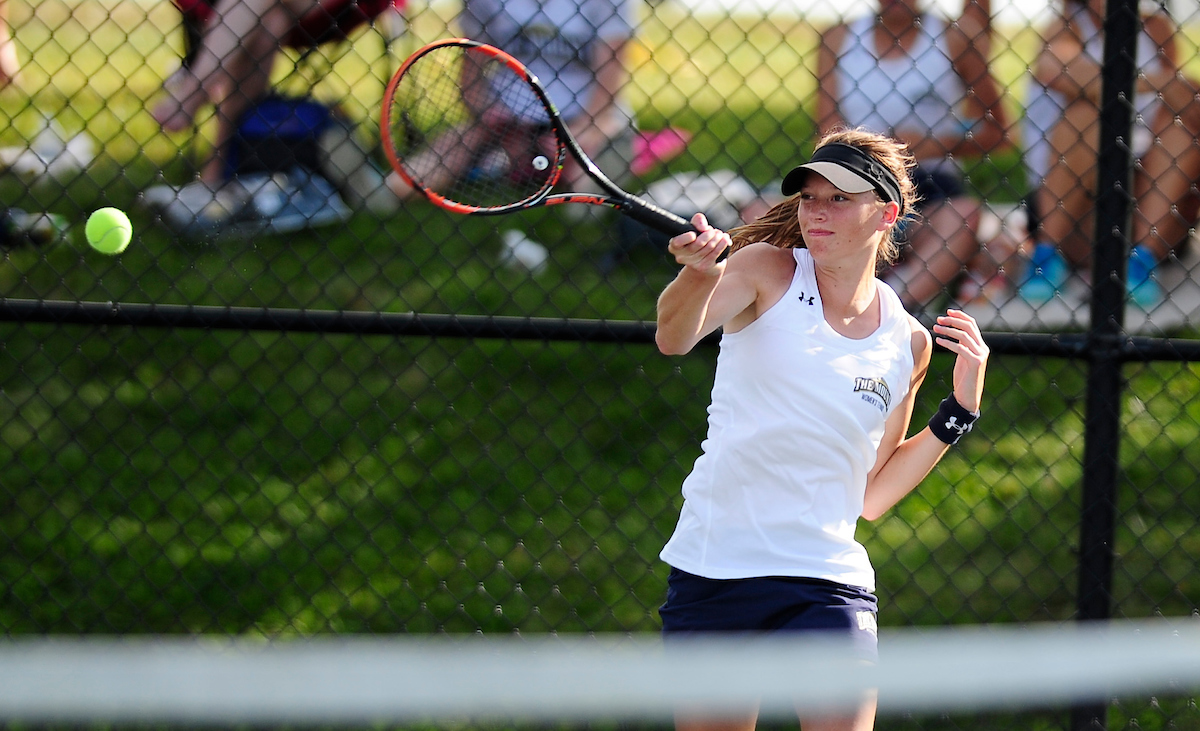 Mount St. Mary's Women's Tennis Wraps Up Day One Of Mount Invitational