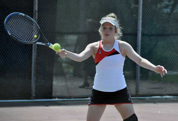Women's Tennis: Panthers split two weekend GSAC matches