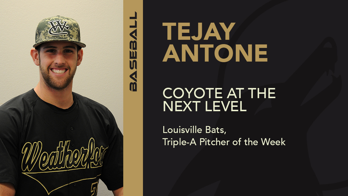 Former Coyote wins Triple-A pitching award