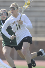 Emily Coady scored four goals against Albany in the 2011 America East semifinals