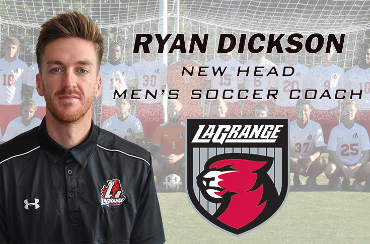 Men's Soccer: Ryan Dickson promoted to head coach for Panthers