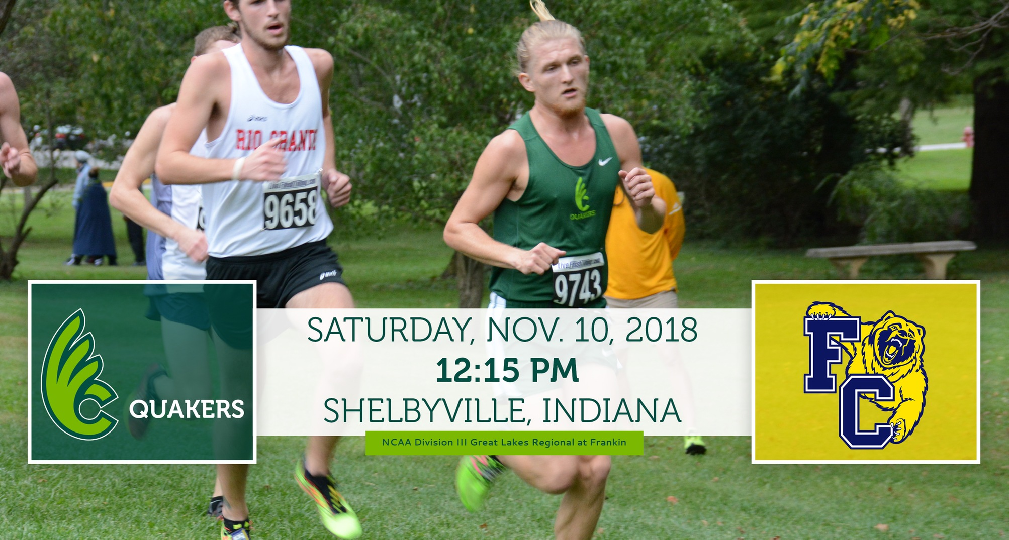 Men's Cross Country To Compete in NCAA Division III Great Lakes Regional Saturday