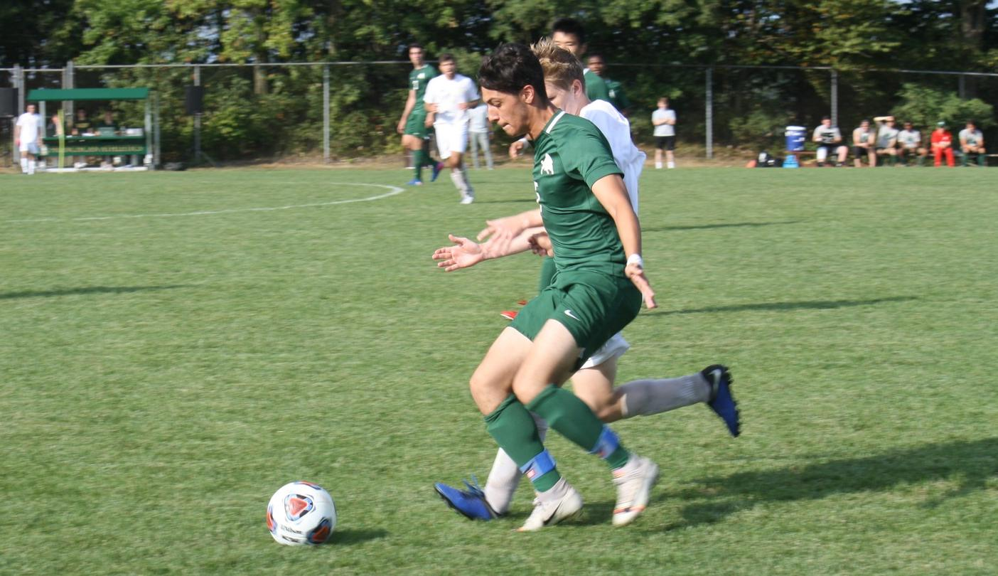 Men's Soccer Clipped at Muskingum