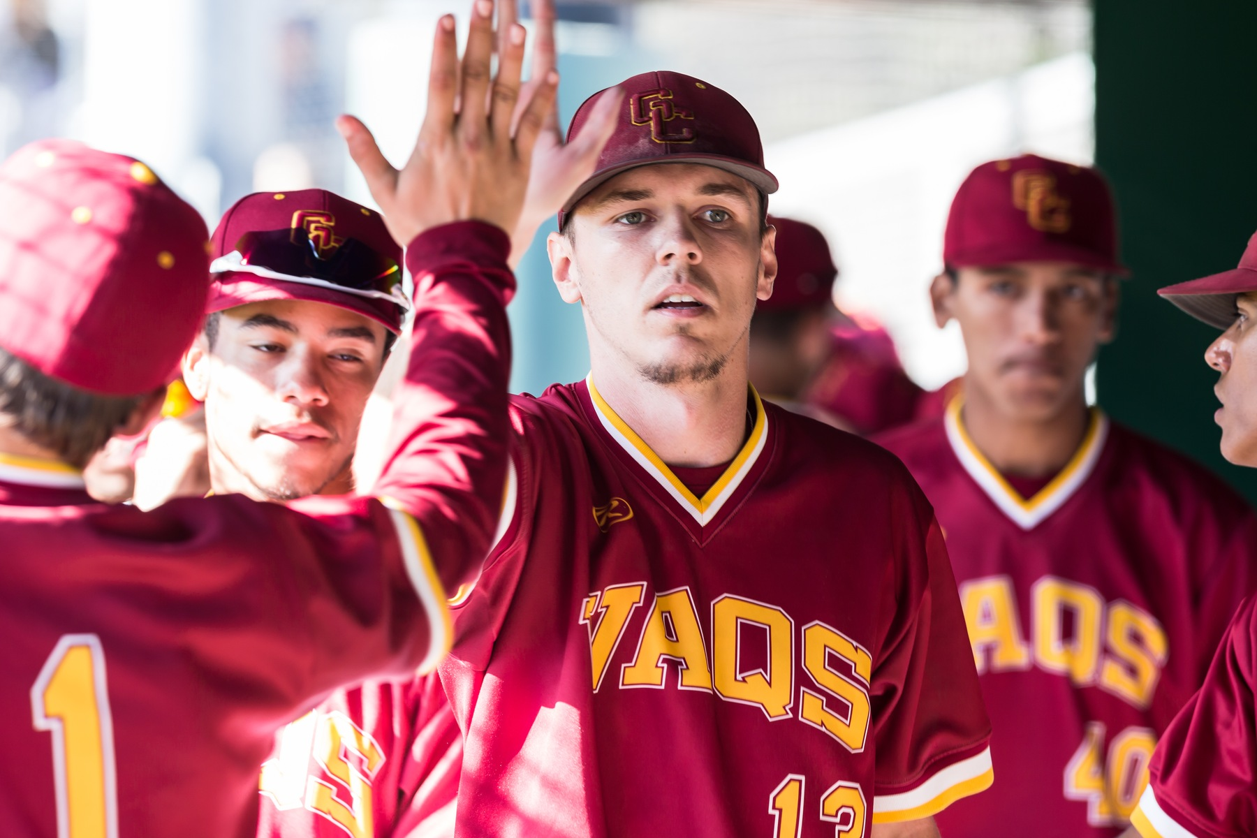 Chris Davidson pitches four hitter to help beat Canyons, 9-0