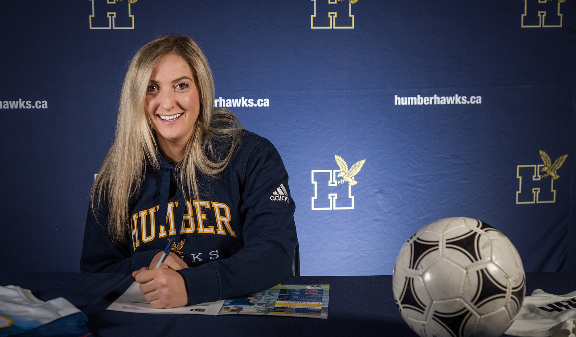 U Sports All-Canadian Signs with Humber Soccer