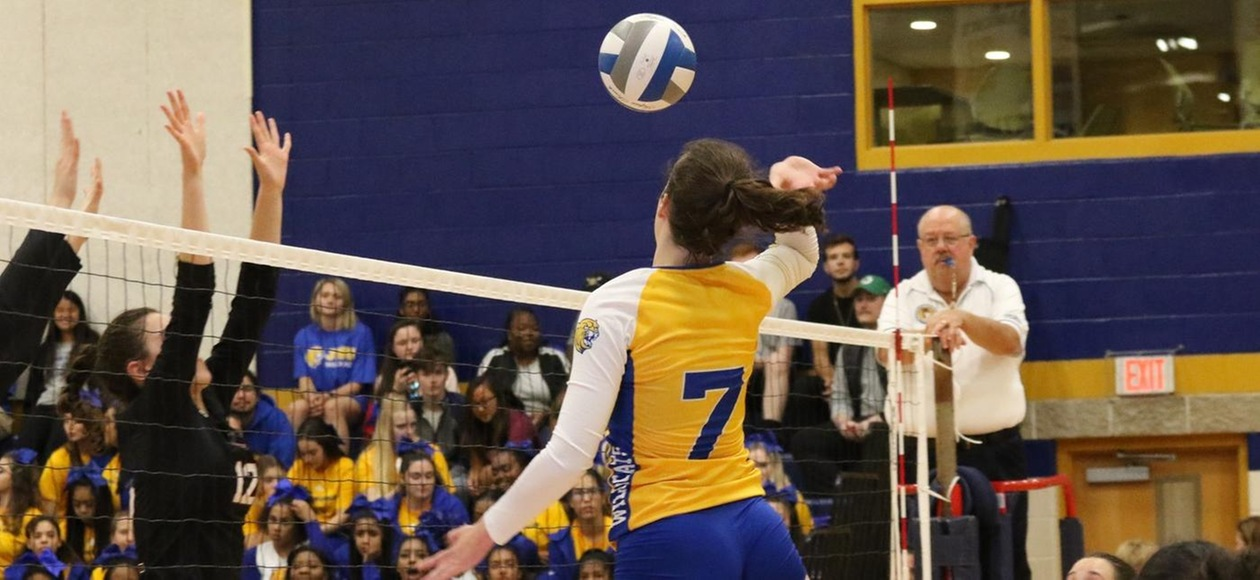 No. 5 Women's Volleyball Falls To Bowdoin, No. 24 Tufts