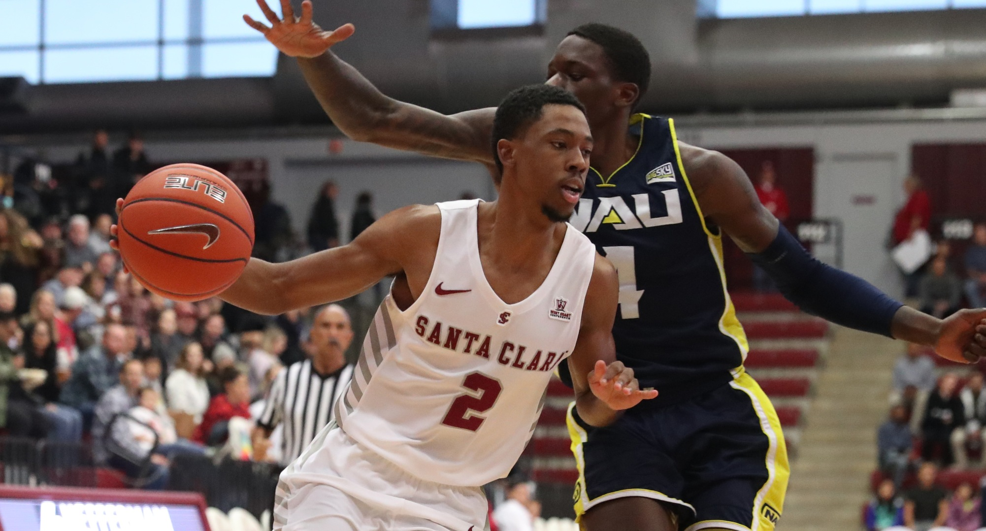 Strong Second Half Sends Men's Basketball Past Northern Arizona, 81-74