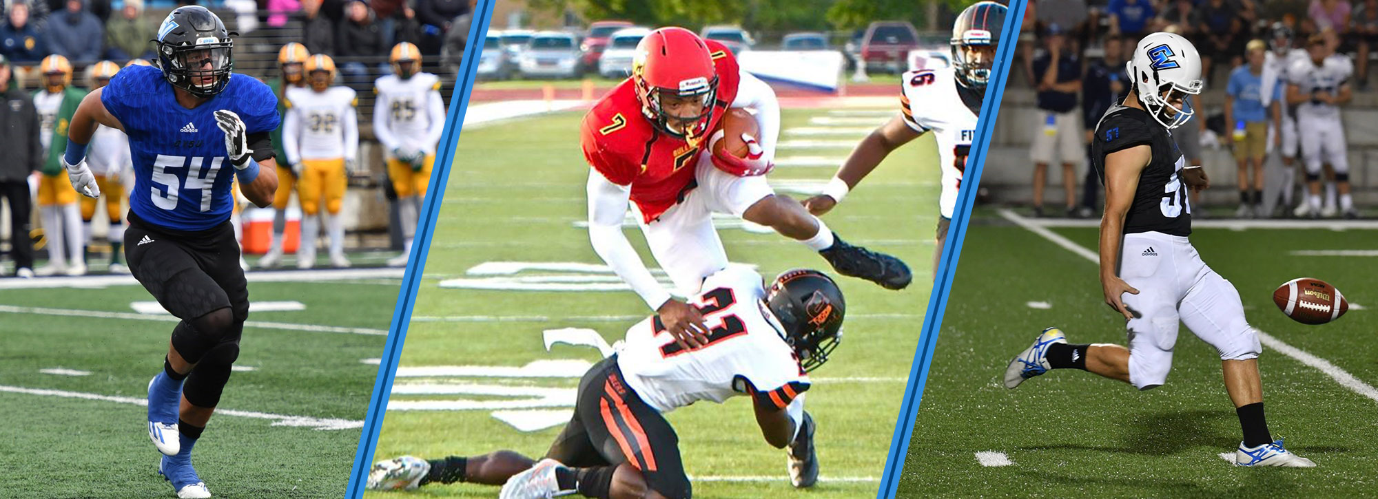 FSU's Campbell, GVSU's Carroll & Cribley Capture GLIAC Football Player of the Week Honors