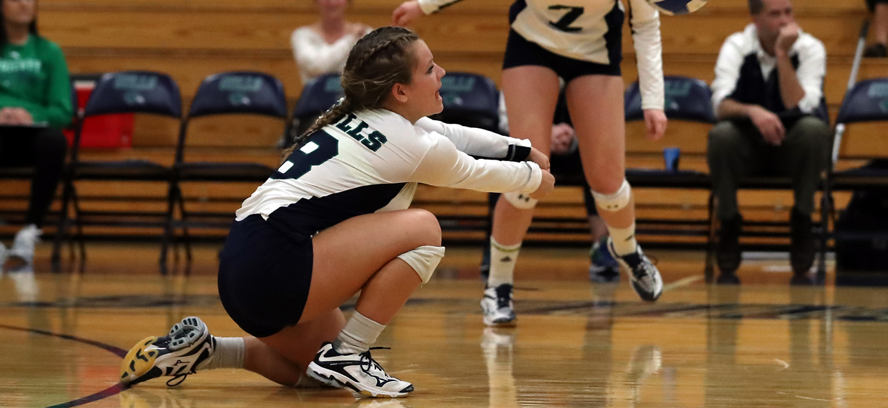 Image of Nichole Trudon picking up a dig.