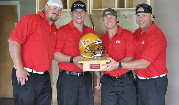 Strong Support Shown For Ferris State Football At Recent Golf Outing!