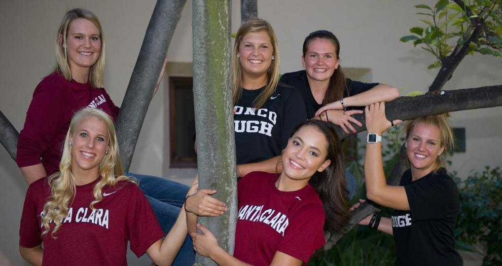 Five Freshmen of Women's Basketball Give Fans a Tour of the Dorms
