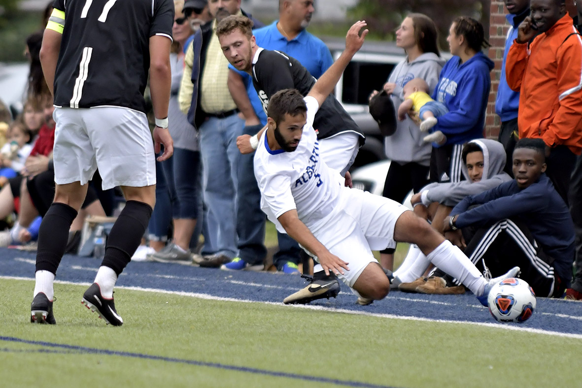 Men's Soccer Blanked by Western Conn. State Univ.