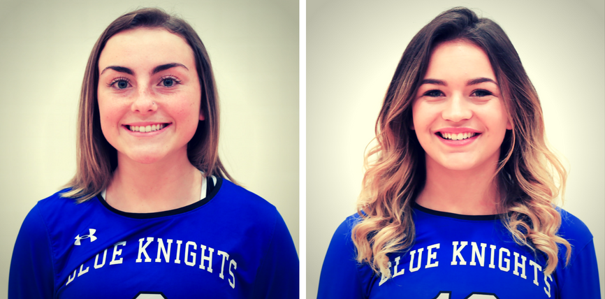 Chelsea Kiewel and Sam Carr Named to Region XIII All Region Volleyball Team