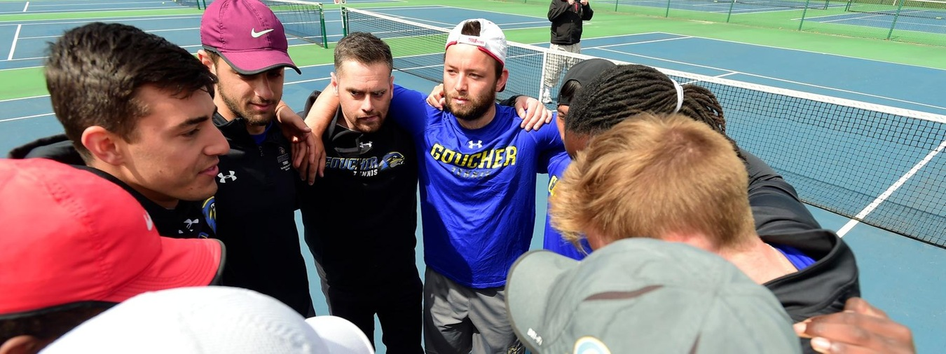 Goucher Men's Tennis Wraps Up Perfect Landmark Conference Regular Season And Home Court Advantage With Juniata Victory