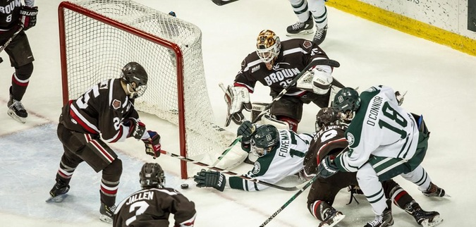 Dartmouth stumbles in regular season home finale to Brown