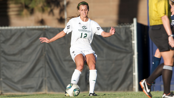 WOMEN'S SOCCER OPENS BIG SKY PLAY FRIDAY AT HORNET FIELD