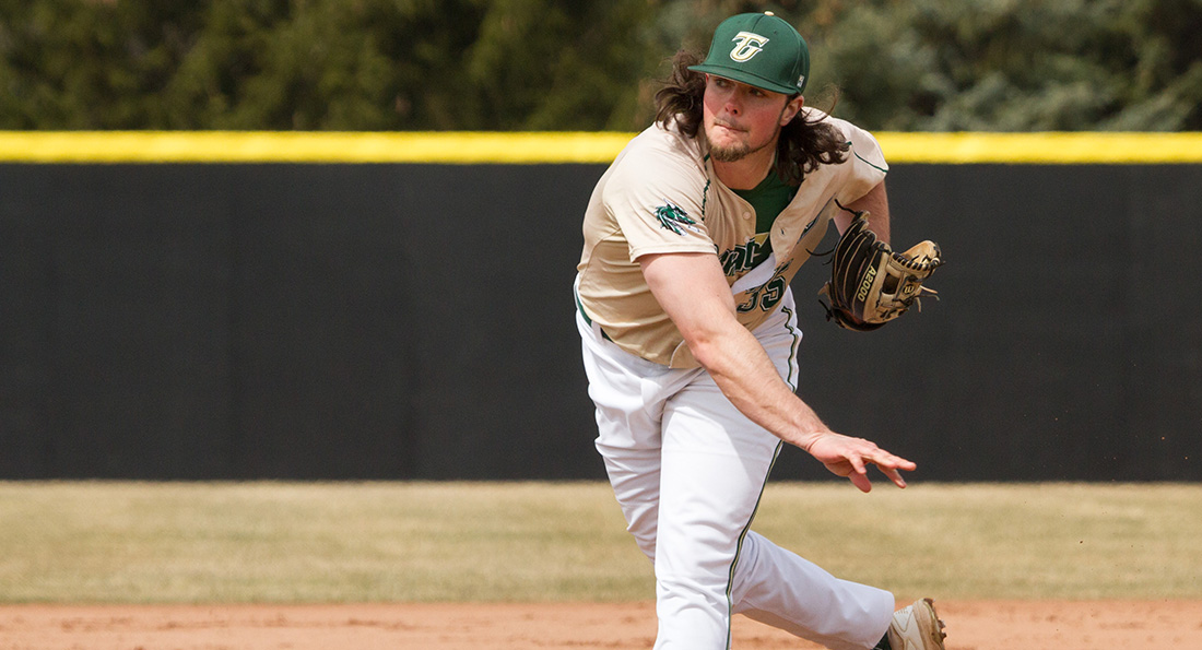 Tiffin's Brady Ward tossed seven innings in a 4-0 defeat.
