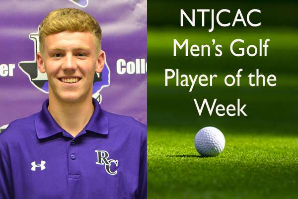 NTJCAC Men's Golfer of the Week (Oct. 22-28)