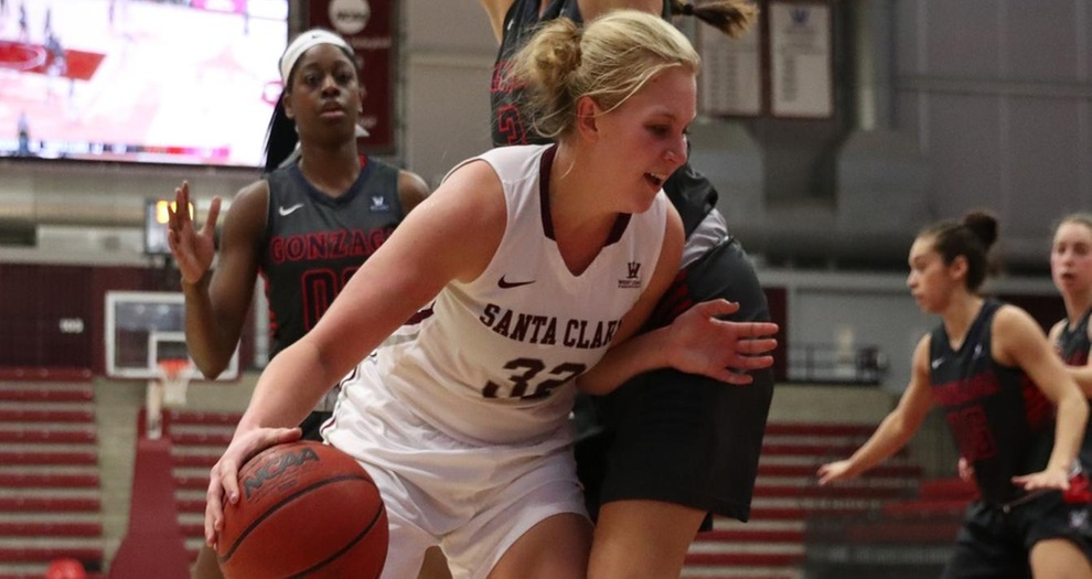 Cold Shooting Sinks Women's Basketball at Saint Mary's