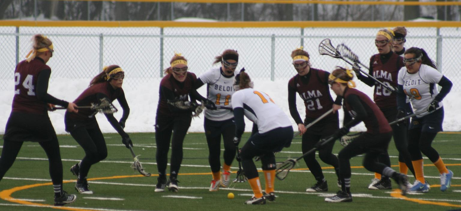 Alma Women's Lacrosse improves to 3-0 with a 16-6 win at Beloit on Friday