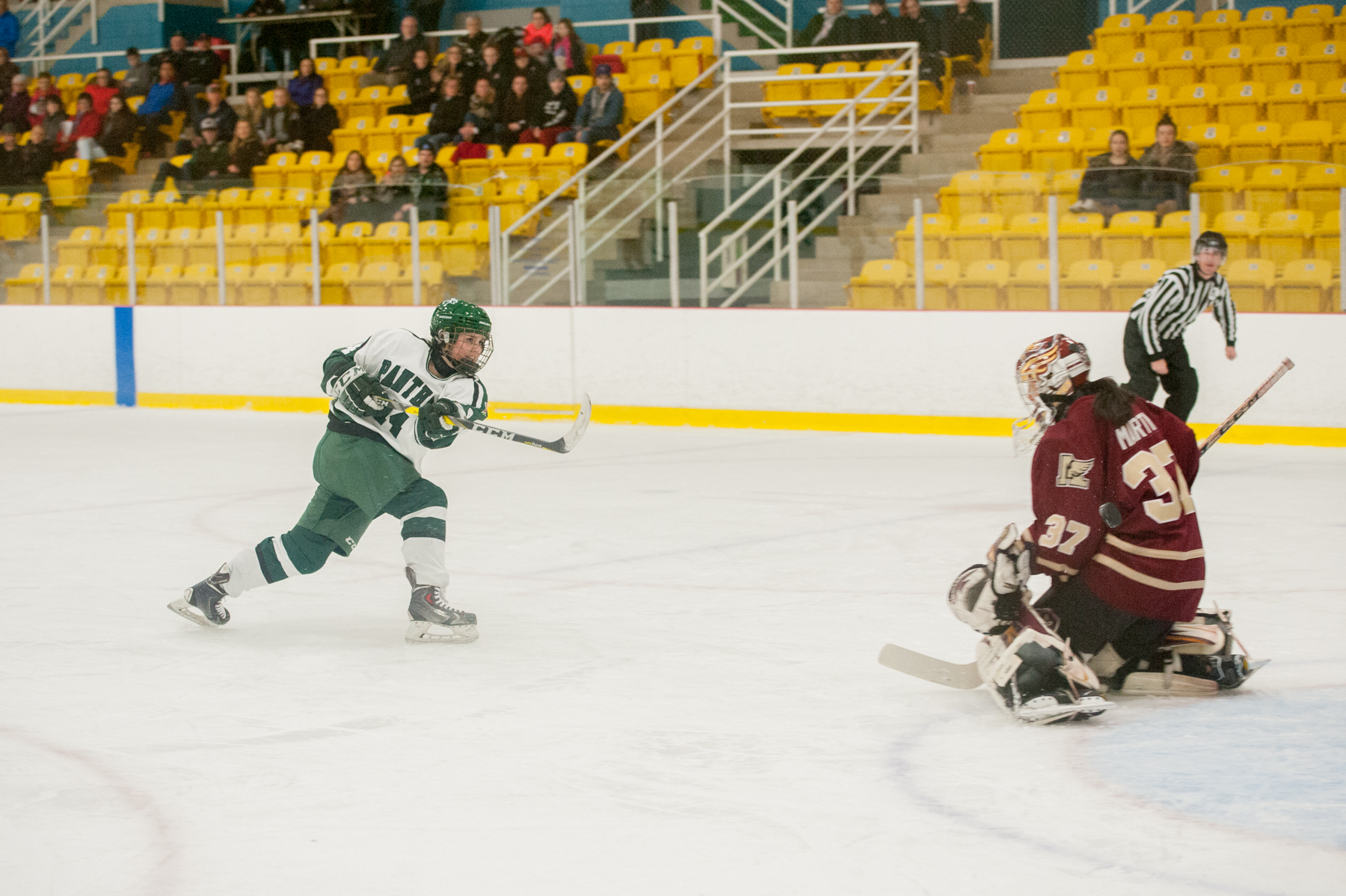 Clinton nets a pair as Panthers cruise past Mount Allison