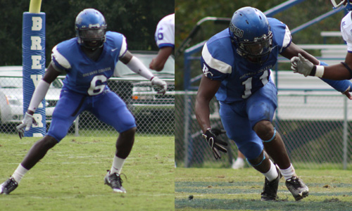 Michael Gist and Prince Simunyu headline the Tornados on the Preseason Team