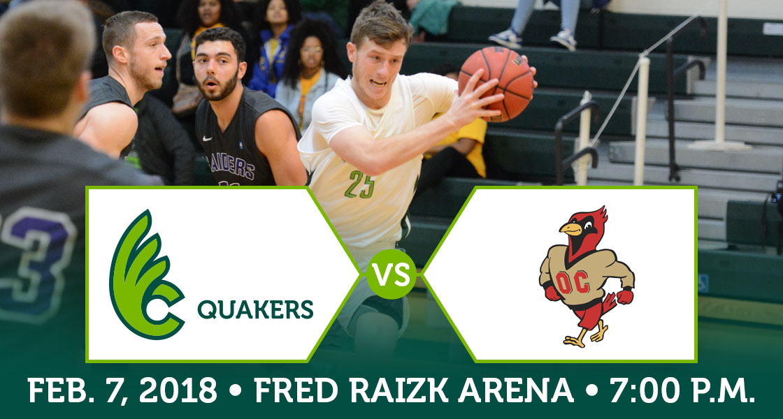 Men's Basketball Hosts Otterbein on Wednesday
