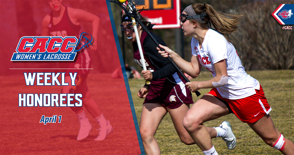 CACC Women's Lacrosse Weekly Honorees (April 1)