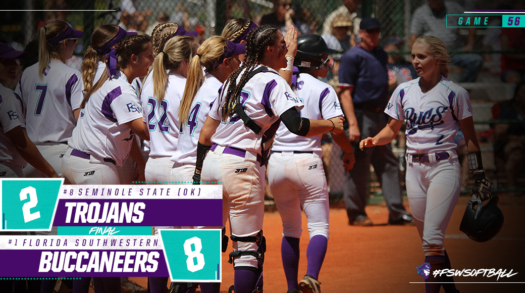 No. 1 #FSWSoftball Defeats No. 8 Seminole St. (OK); Advances To Quarterfinals Of National Tourney