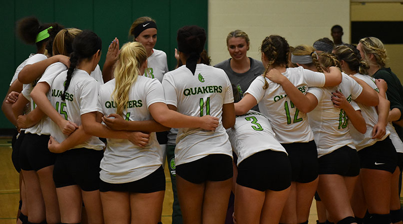 Host Spartans too much for @DubC_Volleyball