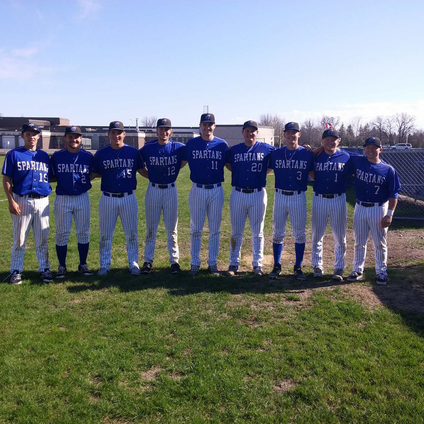 Spartan Pitching Earns Split to End Season
