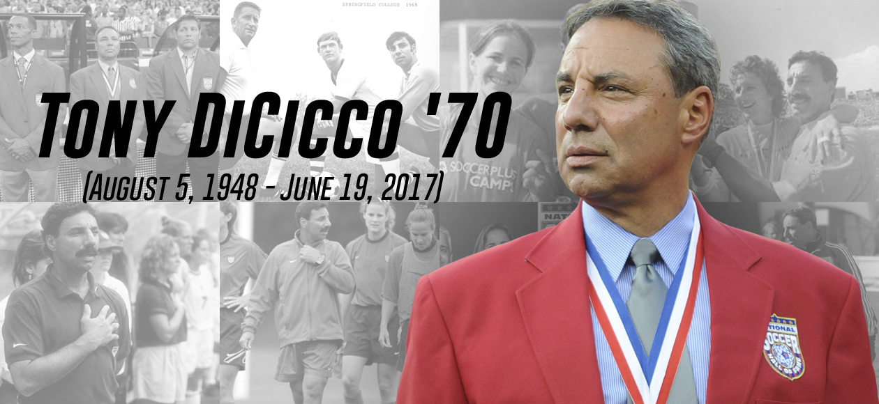 Springfield College Mourns the Passing of Tony DiCicco'70